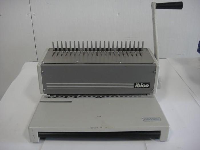Used Ibico Ibimatic Comb Binding