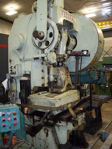 Used Federal 80 Ton OBI Press #7
