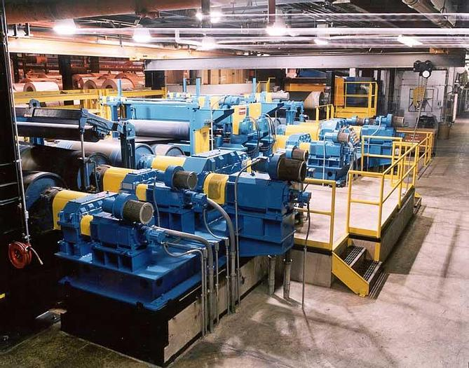 """Used 66"""" Stamco Tension Leveling Section: TLL-190"""