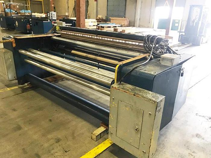 """Used 90"""" GEC 418 Bottom Seal In Line Bag Machine"""