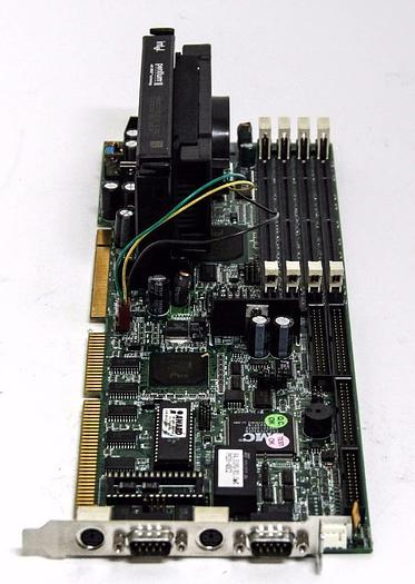 Used Nexcom P620B Single Computer Board KJ060030 w/ Intel Pentium II (5094)