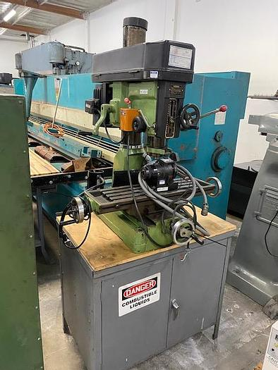 Used PONCHO COMET 30 MILL DRILL BENCHTOP MILLING MACHINE  #5863