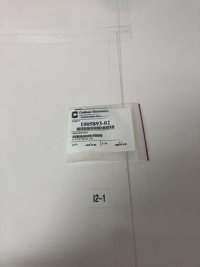 Cookson Electronics U-Cup Seal 2.0 1005893-02 * Warranty * Fast Shipping!