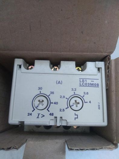 Überlastschalter, Protection Modul LB1-LC03M08, Telemechanique,  neu