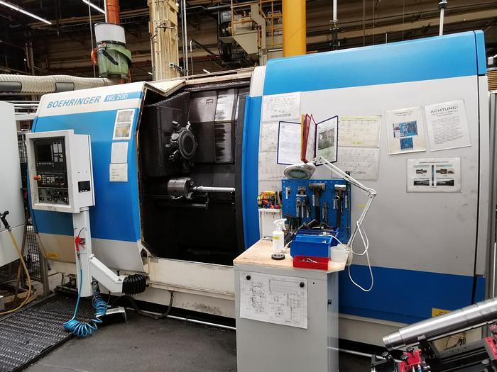 Gebraucht CNC Drehmaschine BOEHRINGER NG 200