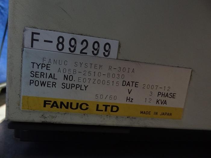 FANUC R2000iB/165F 6 AXIS CNC ROBOT W/ R-30iA CONTROL
