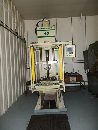 Greenerd 40 ton press