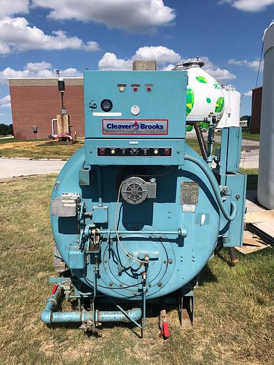 Used 1991 Cleaver Brooks 100 HP  Hot water Boiler 30 PSI  CB700-100