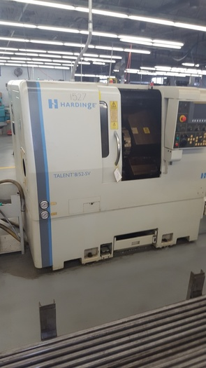 2006 HARDINGE Talent 8/52 SV CNC Turning Center