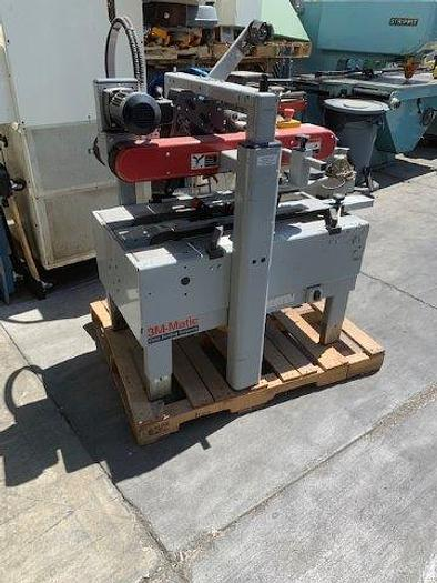 "Used BOX TAPER SEALER, 3M 700A, 2006, 2"" TOP & BOTTOM TAPER DISPENSERS [5440]"