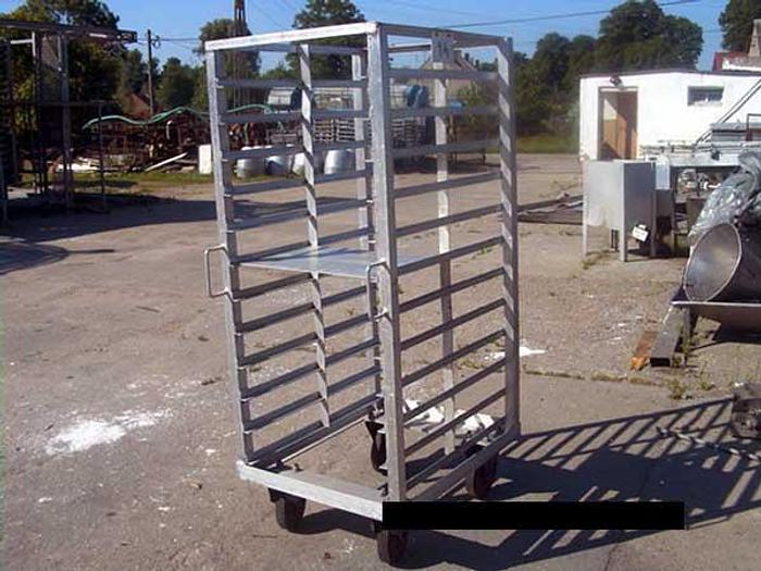 Używane Wózek aluminiowy - piekarniczy
