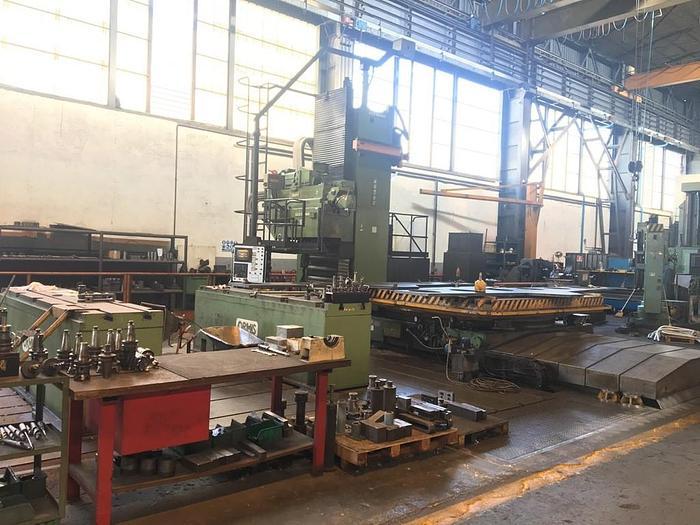 FRESATRICE A MONTANTE MOBILE ZAYER KCU 10000 CNC