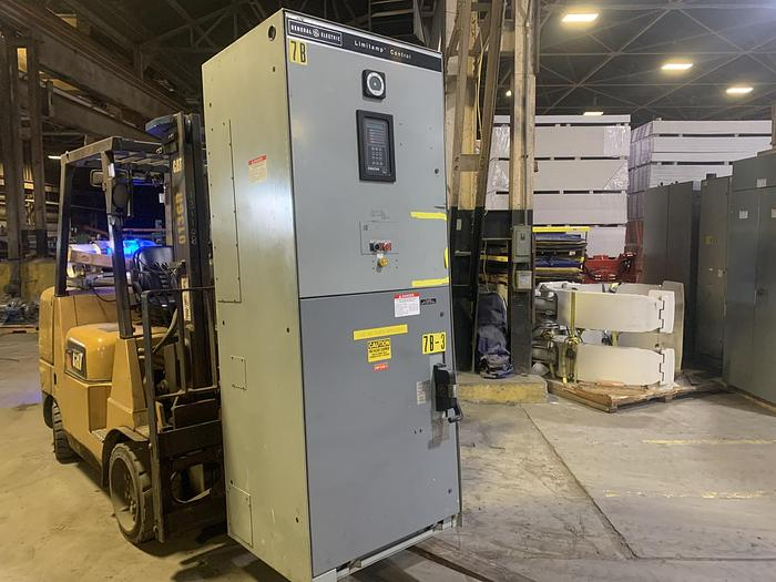Used GENERAL ELECTRIC LIMITAMP C7160A1189 600 HP CONTROLLER W/ DRAW-OUT AIR-BREAK CONTACTOR