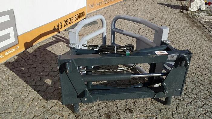 Rundballengreifer 150 cm passend zu Bobcat 114 cm Aufnahme