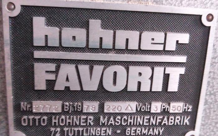 1978 Hohner Favorit