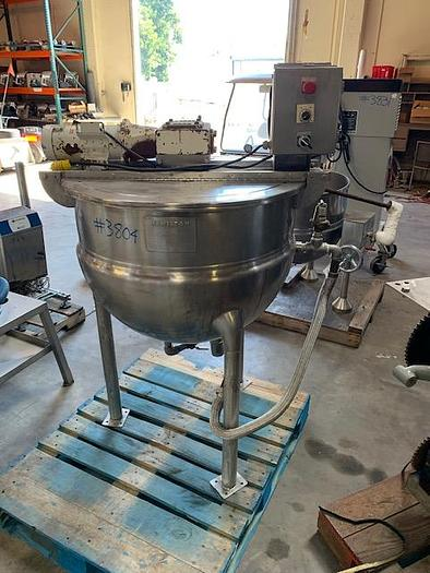 Hamilton 60 gal Stainless Steel Jacketed Mix Kettle