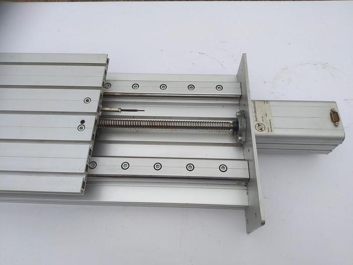 Gebraucht Linearantrieb mit gelagerter Linearführung und Schrittmotor,  Isel /Isert electronic