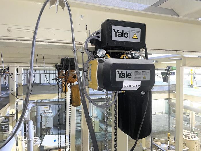 Used YALE CPVF 10 8/20 4 NE Electric Chain Hoist
