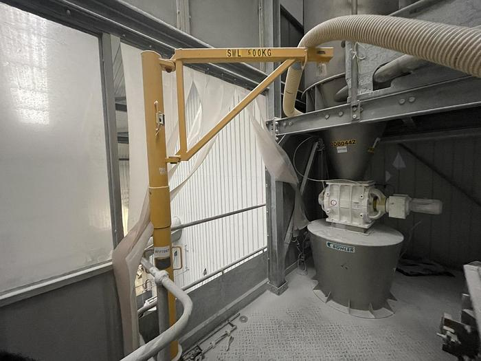 Used DIDSBURY ENGINEERING Minilift 600 Split Pillar Lifting Davit