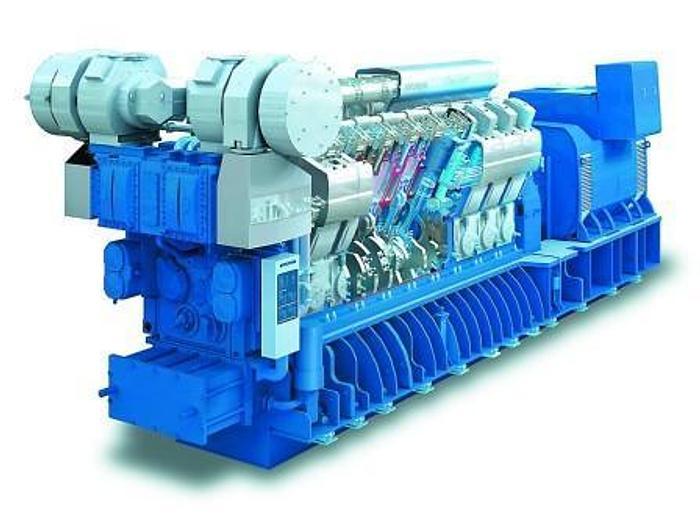 110 MW Used Hyundai 20H32/40V Diesel Power Plant