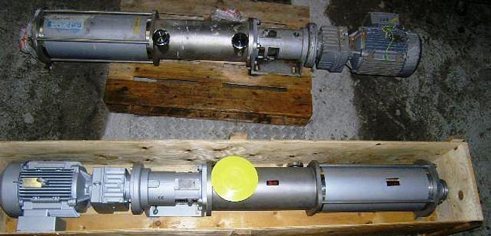 Used WANGEN excenter screw pump, type KL50S 110,0
