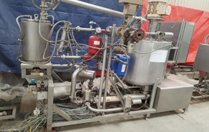 (3) TANIS SYSTEMS FOR CREAM / BATTER PREPARATION & AERATION