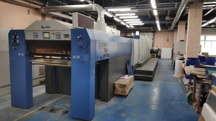 Used 2012 KBA Rapida 105-5+L-CX-Hybrid Offset Press