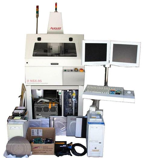 Used Rudolph August NSX-95 Wafer Die and Bump Automated Defect Inspection System 7250
