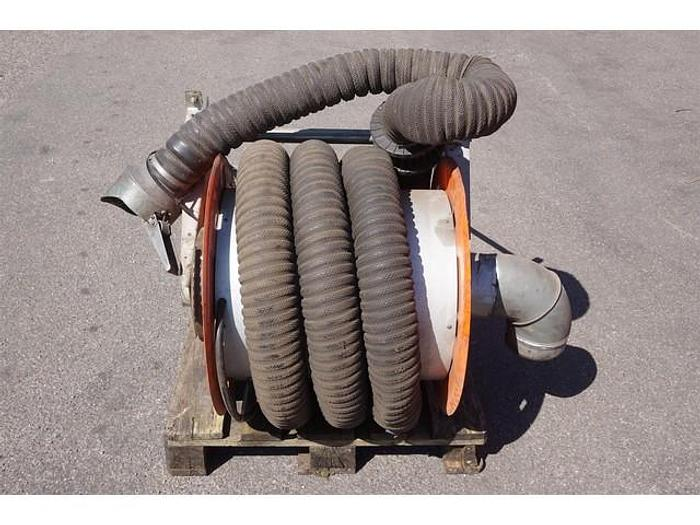 Used NEDERMAN EXHAUST GAS TUBE 7.5M