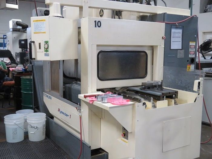 KITAMURA MYCENTER 1 APC - CNC VMCwith Pallet changer 1995