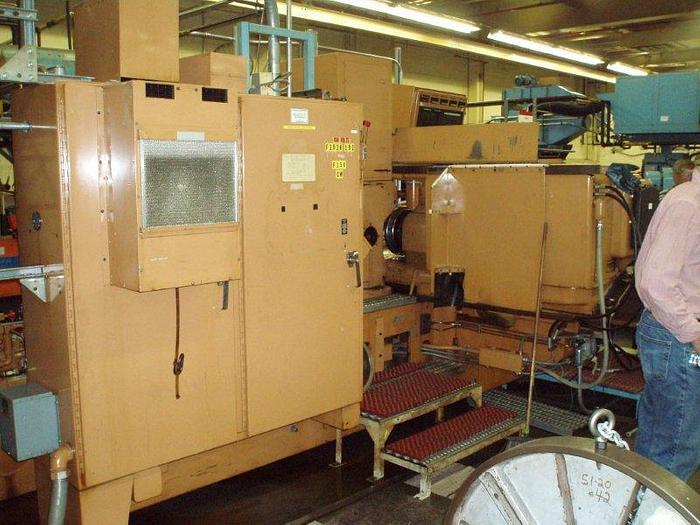 "12"" x 80"" SHEFFIELD ""CRUSH­TRUE"" Model 187 D CNC Crush Form Cylindrical Grinder; S/N 400824"