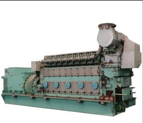 1.88 MW 2017 9L21/31S Diesel Generator