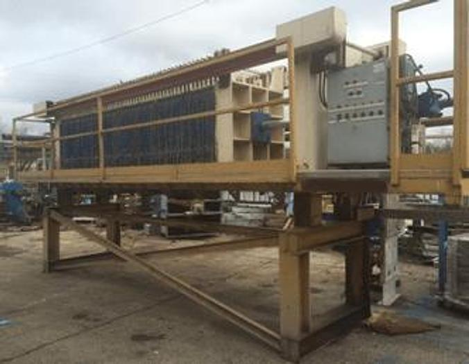 Used 60 CU. FT. DURCO QUAD PRESS – 1200 MM – NON-GASKETED