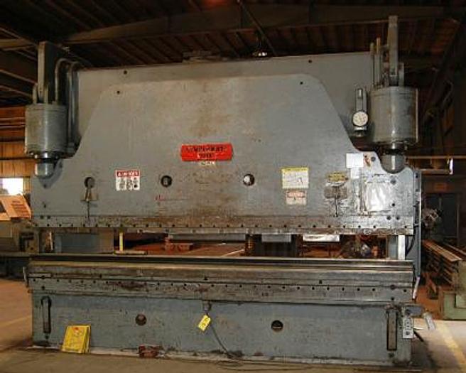 Used 1969 Cincinnati 14′ x 300 Ton Hydraulic Press Brake 300 H