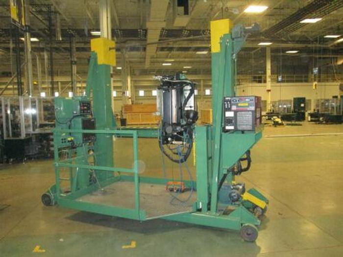 Used Jetline Engeneering CS3-15ZV Plasma Vertical Seam Welder NO POWER SUPPLY