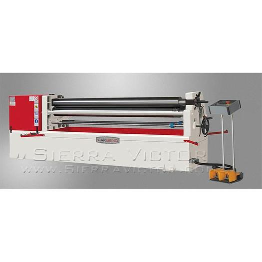 AKYAPAK 3-Roll Asymmetrical Plate Roll ASM110-10/4.0