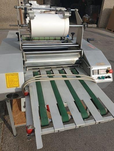 Used Tecnomac Sprinter 500 laminator, year 2003.
