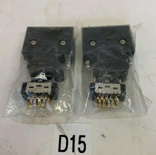 New 3M 10320-Shell Connector ( Lot Of 2)