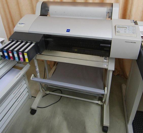 Gebraucht EPSON Tintenstrahldrucker Stylus Pro 7500, 2001, #1265419
