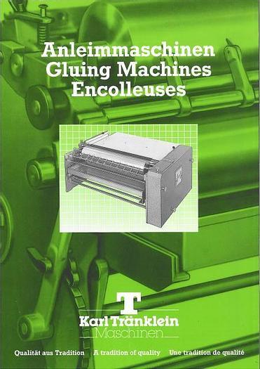 MACHINES NEUVES TRANKLEIN