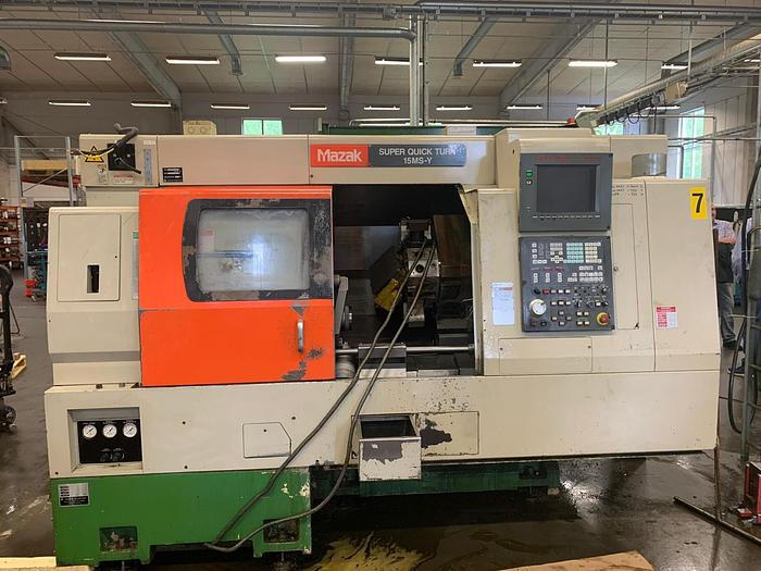 Used MS85 Mazak Super Quick Turn 15 MSY