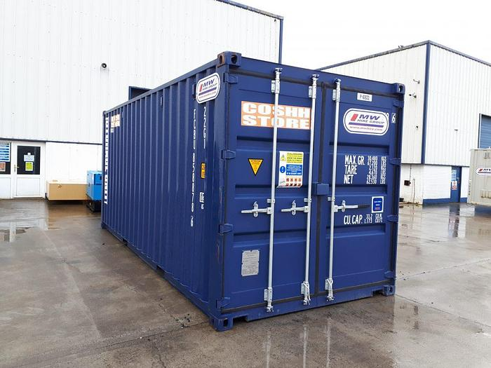 Used COSHH Store – 20ft
