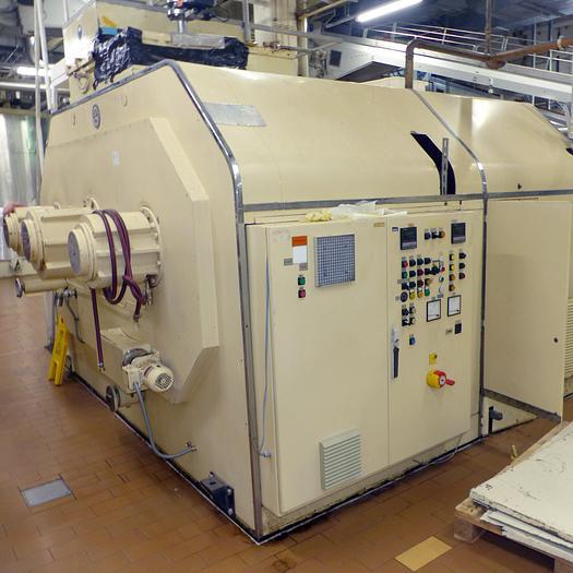 Gebraucht gebr. Doppel-Überschlagconche FRISSE Type DÜC-3 mit ca. 3.000 kg Inhalt.