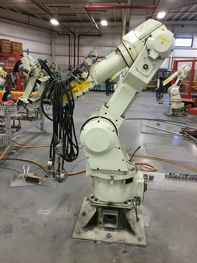 """Used used Kawasaki robot FS 030L with """"D+"""" (D Plus) controller"""
