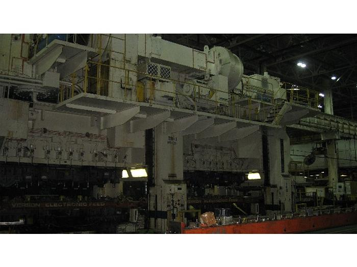 3000 ton Clearing Dual Ram Used Stamping Press
