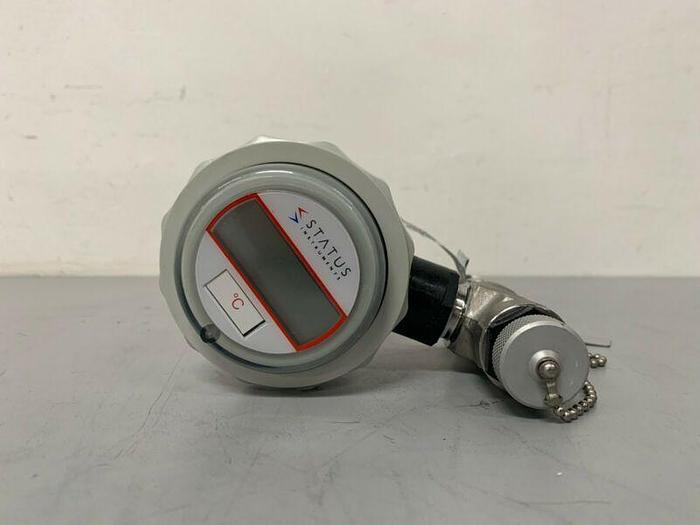 "Used Status Instruments 785195 Temperature Sensor Probe w/ 1"" Sanitary Fittings"