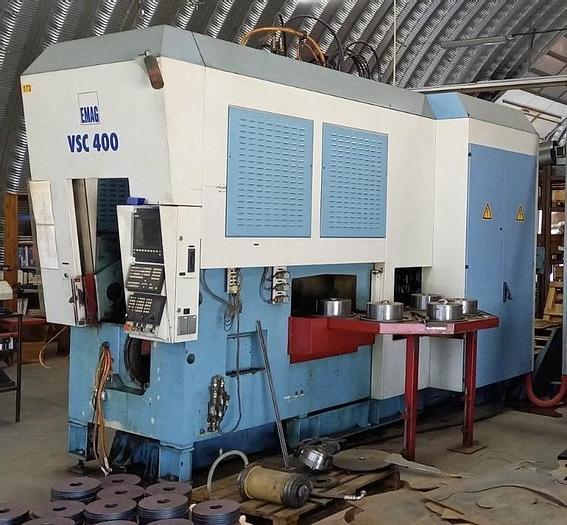 Gebraucht 2001 EMAG VSC400 vertikale CNC Pick up Drehmaschine