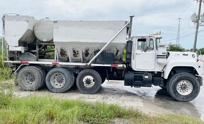 Used Zimmerman Volumetric Concrete Mixer Truck