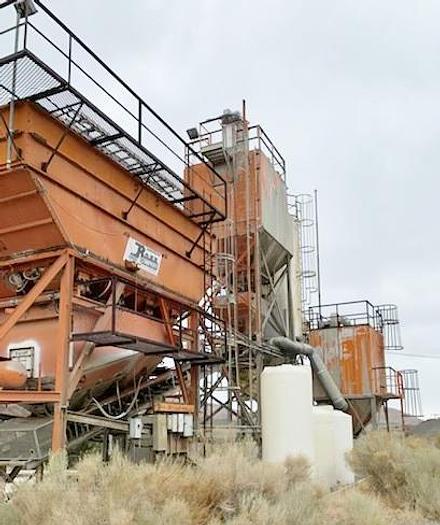 Used Ross Bandit 12 Portable Concrete Batch Plant
