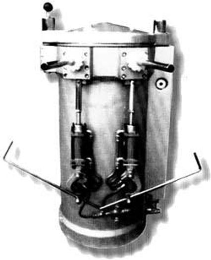 """Używane Nadziewarka tłokowa pneumatyczna """"MND - 75"""""""